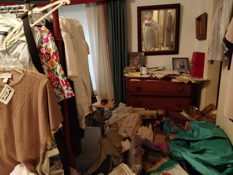hoarder junk removal raleigh after picture