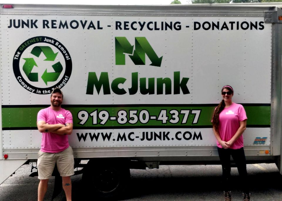 Junk Removal Raleigh NC | Haul Furniture | McJunk