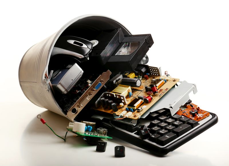McJunk electronic waste